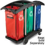 HouseKeeping - Cart - Waste seperation - 9T92