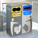 Metal waste Seperation Bins Indoor 2