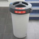 Plastic Waste Separation Bins Indoor 10