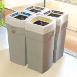 Plastic Waste Separation Bins Indoor 2