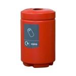Plastic Waste Separation Bins Indoor 3