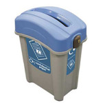 Plastic Waste Separation Bins Indoor 4