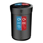 Plastic Waste Separation Bins Indoor 6